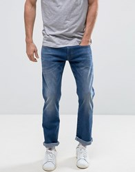 Esprit Slim Fit Jeans In Light Wash Light Wash Blue