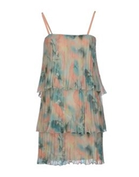 Max And Co. Short Dresses Light Green