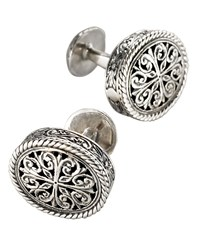 Konstantino Carved Cuff Links Men's