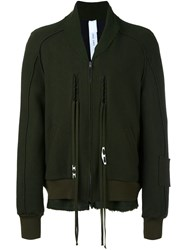 Damir Doma Zipped Jacket Green