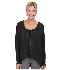Lole Bala Top Black Heather Women's Long Sleeve Pullover