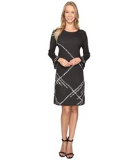 Nic Zoe Checked Cuff Dress Multi Women's Dress