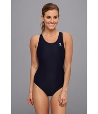 Tyr Solid Maxfit Swimsuit Navy Women's Swimwear