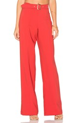Lovers Friends X Revolve Angeli Pants Red
