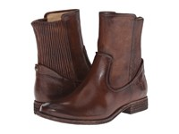 Frye Melissa Scrunch Short Dark Brown Antique Pull Up Women's Pull On Boots