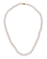Belpearl 14K White Freshwater Pearl Necklace