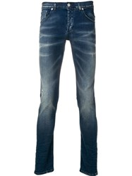 Dondup George Skinny Fit Jeans Blue