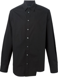 3.1 Phillip Lim Asymmetric Shirt Black