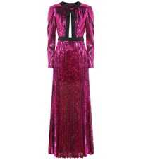 Philosophy Di Lorenzo Serafini Sequined Gown Pink