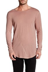 Control Sector Long Sleeve Disrupt Tee Pink