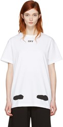 Off White Ssense Exclusive Diagonal Spray T Shirt