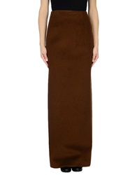 Dsquared2 Long Skirts Brown