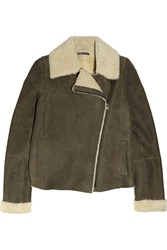 Vince Shearling And Suede Jacket