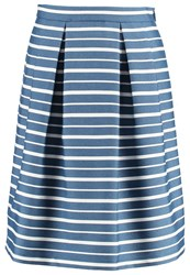 More And More Aline Skirt Marine Blue