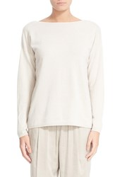 Lafayette 148 New York Women's V Back Cashmere Sweater