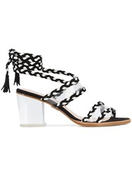 Ritch Erani Nyfc Velvet Sandals Black