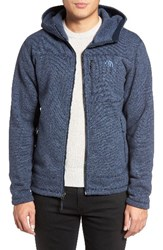 The North Face Men's Gordon Lyons Relaxed Fit Sweater Fleece Hoodie Urban Navy Heather