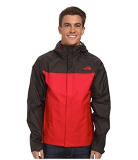 The North Face Venture Jacket Tnf Red Asphalt Grey Men's Jacket