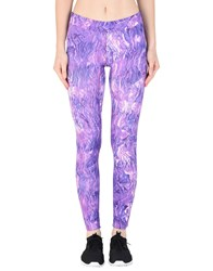 The North Face Trousers Leggings Purple