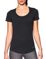 Under Armour Solid Roundneck Tee Black