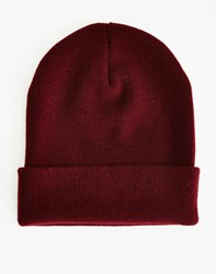 The Idle Man Original Beanie Burgundy