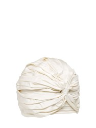 Alex Silk Taffeta Turban