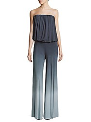 Young Fabulous And Broke Sydney Off The Shoulder Ombre Jumpsuit Grey