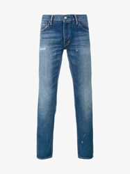 Visvim Damaged Social Sculpture Jeans Denim Blue
