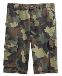 Lrg Men's Cargo Shorts Medium Green