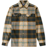 Patagonia Fjord Flannel Shirt Green