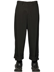 D By D Tailored Viscose Blend Twill Pants