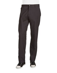 Calvin Klein Straight Fit Chino Pants Black