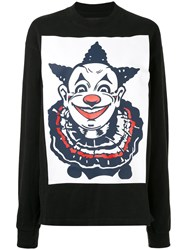 Aganovich Clown Print Longsleeved T Shirt 60