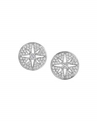 Maria Canale For Forevermark Pastiche Diamond Star Button Earrings