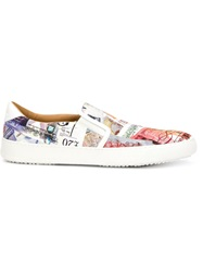 Vivienne Westwood 'Tennis' Slip On Sneakers White