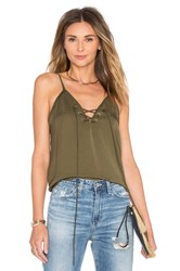 Wyldr Don't Cross Me Cami Olive