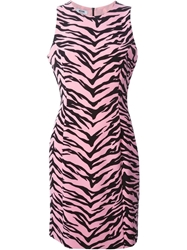 Moschino Cheap And Chic Tiger Print Dress