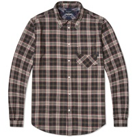 Paul Smith Classic Fit Western Check Shirt Black