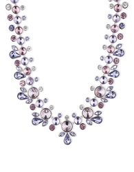 Givenchy Crystalline Statement Necklace Purple