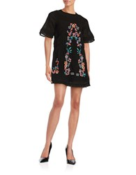 Free People Perfectly Victorian Mini Dress Black