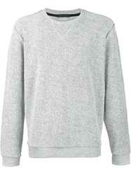 Atm Anthony Thomas Melillo Crew Neck Sweatshirt Grey