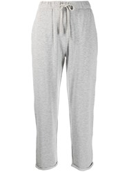 Majestic Filatures Cropped Sweatpants Grey