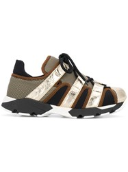 Marni Techno Sneakers Metallic