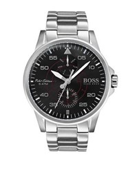 Hugo Boss Iconic Stainless Steel Watch Silver