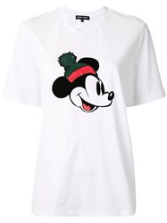 Markus Lupfer Sequin Mickey Mouse T Shirt 60