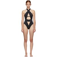 Agent Provocateur Black Anja One Piece Swimsuit