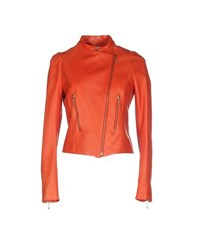 Maison Rabih Kayrouz Coats And Jackets Jackets Women Red