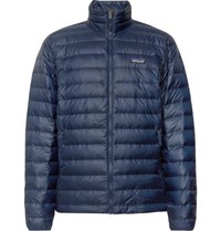 Patagonia Quilted Ripstop Down Jacket Navy