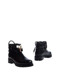 Mr Wolf Mr. Ankle Boots Black