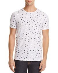 Sovereign Code Floriano Graphic Tee White Navy